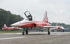 Northrop F-5E Tiger II (Boushh_TFA) Tags: nikon force suisse belgium swiss air tiger ii nikkor f5 base f28 70200mm northrop 2015 d600 patrouille f5e vrii vliegbasis kleinebrogel ebbl spottersdag