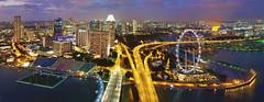 East of Singapore from SkyPark @ Marina Bay Sands (williamcho) Tags: panorama singapore cityscape ngc east marinabay singaporeflyer flickraward pieecp