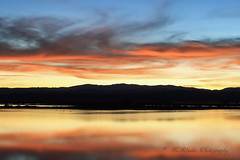 Sunset over flooded fields outside Willows (trifeman) Tags: california winter canon glenn 7d february 2016 glenncounty canon7dmarkii