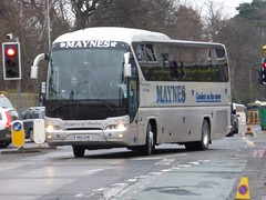 N60 GSM (Cammies Transport Photography) Tags: road england man bus scotland coach edinburgh rugby v gsm specials n60 neoplan corstorphine maynes n60gsm