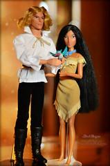 John_Poci 05 (Lindi Dragon) Tags: john doll dolls smith disney mattel pocahontas disneystore disneyprincess