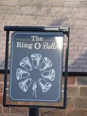 The Ring O Bells - Chester Road, Daresbury - pub sign (ell brown) Tags: greatbritain england sign pub village cheshire unitedkingdom pubsign publichouse daresbury halton chesterrd theringobells daresburyvillage daresburyconservationarea theringobellsdaresbury chesterrddaresbury