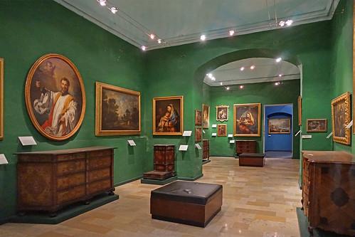 Les peintures italiennes du XVIIIè s. au musée national des beaux-arts (La Valette, Malte)