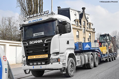 Scania R580 (Alexandre Prvot) Tags: construction construccin lorraine worksite buildingsite travaux chantier cugn grandnancy baustellebauplatz