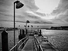 (mahler9) Tags: city urban harbor pier blackwhite wharf