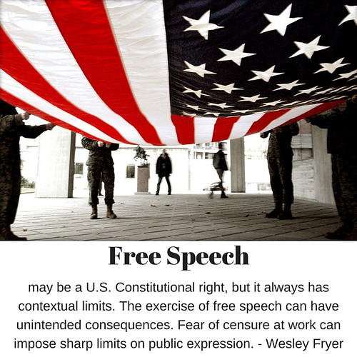 Free speech limits by Wesley Fryer, on Flickr