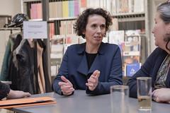 photoset: Architekturzentrum Wien:  Neue Direktorin Angelika Fitz  (17.2.2016, Pressekonferenz) http://esel.cc/Azw_Fitz