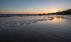 Leo Carrillo Sunset (jimsheaffer) Tags: california camping sunset landscape seaside pacific pacificocean beachcamping leocarrillo leocarrillostatebeach nikond750