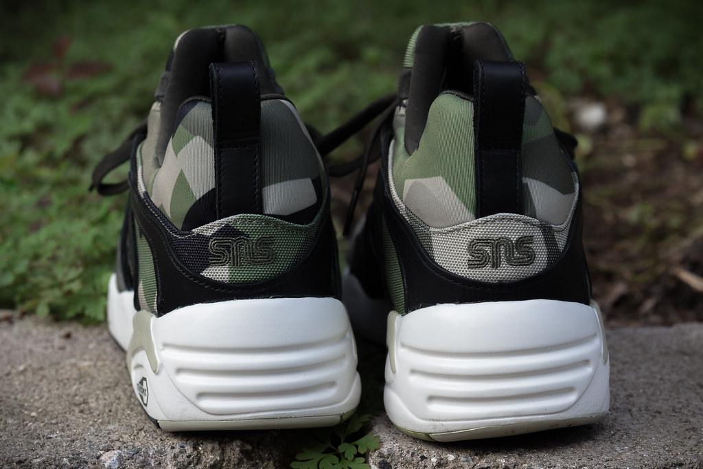 443a299a42a Sneakers N Stuff x Puma  quot Swedish M90 Camo quot  Blaze of Glory  (CaselxASD