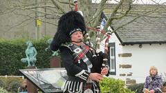 Gretna Piper (deltrems) Tags: green scotland gretna piper bagpipes bagpiper dumfries galloway gretnagreen