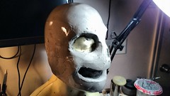 Sans: Undertale (Master of Fright Props) Tags: sculpture game mask cosplay sans undertale