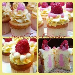 Pineapple-Raspberry-Passionfruit Cupcakes-Sweettonescupcakes (Sweet Tones Cupcakes) Tags: cupcakes losangeles cupcake pineapple raspberry stc passionfruit tartandsweet gourmetcupcakes sweettonescupcakes sweettonescc cupcakology pineappleraspberrypassionfruitcupcakes