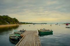 Quiet Harbor (SLEEC Photos/Suzanne) Tags: seascape lensbaby harbor boat dock capecod massachusetts textured flypaper
