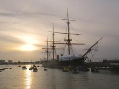 Portsmouth HMS Warrior (Bootnecks) Tags: portsmouth hmswarrior sunsetportsmouth