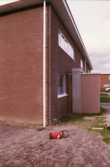 Oud Oefenplein, Mechelen, ANT (Jickatrap) Tags: film architecture analog 35mm pentax suburbia  mechelen fujisuperia pentaxmz50 superia200 filmphotography        newtopographics    photographersontumblr