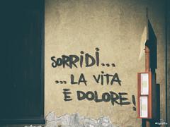 ilgraffio (di Rozzano) Tags: street art smile graffiti mural arte graffito graff murales graffitiart rozzano ilgraffio