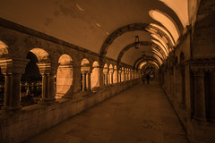 Fisherman's Bastion (jon.godfrey) Tags: river budapest danube parliamentbuildings fishermansbastion