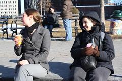 Chill air, warm hearts, hot coffee (Mark Nazimova) Tags: nyip sarahrachelnazimovabaum sarahnazimovabaum sarahnazimova newyorkinternprogram