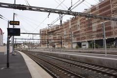 Gare Montpellier Saint-Rock - Train to Madrid (rfzappala) Tags: madrid france train europe gare euro montpellier languedoc 2015 saintrock