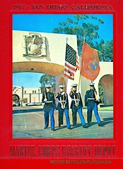 PLT 294 070e - 1967 (BDC Photography) Tags: california usa usmc texas sandiego 1967 bootcamp unitedstatesmarinecorps mcrd pipecreek