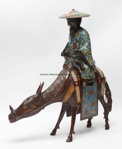 Japanese Bronze Type Horse & Rider $302.500 - 9/11/15