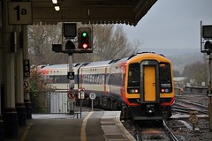 Danger or Proceed (Western Railway Photography) Tags: west up st south trains class waterloo exeter change davids 159 aspect signalling e160 159006