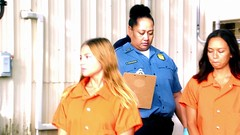h50503_01756 (UJB88) Tags: county orange women uniform prison jail facility jumpsuit correctional restrained