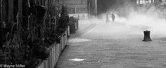 London Awakens (Wayne Stiller) Tags: street people building london st site construction cross kings pancras