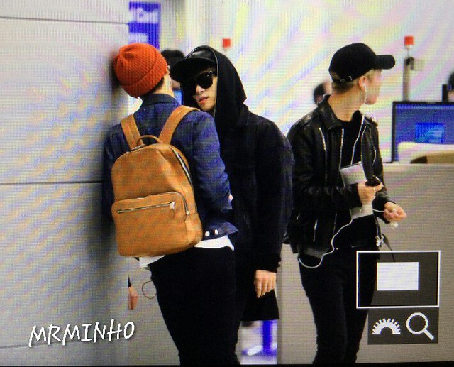 160328 SHINee @ Aeropuertos de Incheon y Shanghai {Rumbo a China} 25829206040_3d8187e574_z