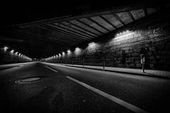 paso inferior III (Zesk MF) Tags: street white black night lights nikon strasse details sigma structure mf 8mm weiss schwarz trier lampen nachts unterfhrung longtime langzeit zesk