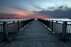 Gallagher Pier (ErikEdmund) Tags: new york sunset ny canon pier buffalo mark gallagher ii western 5d lackawanna wny