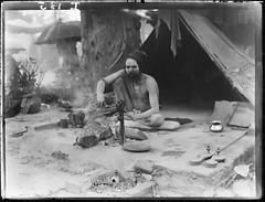 Hindu fekir Cawnpore (gordon_morales) Tags: india glass plate negative indien sadhu