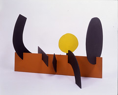 Adolph Gottlieb — Wall, 1968. Sculpture: Painted aluminium, 26 ½ x 40 x 5/8 x 24 in. Akron Art Museum, Akron, Ohio; © Adolph and Esther Gottlieb Foundation/Licensed by VAGA, NY, NY. SculptureAbstractionModern art (ArtAppreciated) Tags: sculpture abstract art museum modern century painting painted fineart modernism minimal blogs american abstraction adolph minimalism 20th akron aluminium gottlieb artblogs tumblr artoftheday artofdarkness artappreciated artofdarknessco artofdarknessblog