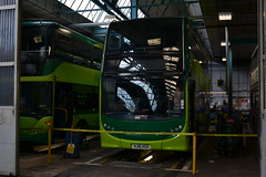 And Another One (reynardbizzar) Tags: new signs green naked paint no pit fresh southern workshop 400 vectis dennis brand decals scania enviro 1117 transfers hsd omnicity hj16 hj16hsd