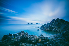 The Dragon Tail (Maximecreative) Tags: longexposure morning sea sky clouds sunrise lowlight rocks mediterranean corsica dramatic rocky wideangle motionblur f28 atmospheric select archipelago les sanguinaires 14mm samyang leefilters bigstopper nd06hardgrad sw150