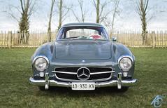 Eyes to pearls (AdamC3046) Tags: classic cars car mercedes benz meeting sl mercedesbenz motor circuit meet goodwood members 300sl 2016 74th 74mm