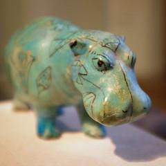 egyptian hippo (blinq) Tags: vienna wien museum egypt egyptian hippo hippopotamus khm gypten kunsthistorischesmuseum nilpferd gyptisch fluspferd