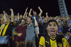 Pearol scores (chipje) Tags: uruguay football fans montevideo cheering stands pearol estadiocentenario