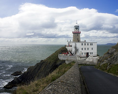 Baily lighthouse,Howth, Co Dublin (ken Dowdall) Tags: ireland howth dublin clouds canon eos bailylighthouse t2i