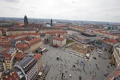 Aussichtsplattform Frauenkirche (Christian Jena) Tags: dresden frauenkirche aussichtsplattform auftsieg