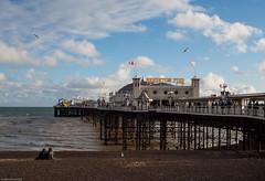 Spot the bubble (susie2778) Tags: sea sunshine pier brighton olympus palacepier 17mmf18 omdem5mii