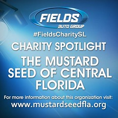 "This week's FIELDS CHARITY SPOTLIGHT goes to The Mustard Seed of Central Florida, whose mission is to ""help rebuild the lives of families and individuals who have suffered disaster or personal tragedy by providing household furnishings and clothing while (landroverorlando) Tags: auto usa cars car orlando automobile florida united group rover land fields fl states autos landrover rangerover luxury automobiles wwwlandroverorlandocom"