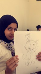 Cartoon Characters Drawing I رسم شخصيات الرسوم المتحركة