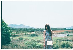 Khanh Linh by Nikon FE Film Fuji Xtra 400 (Veronica Vu) Tags: film photography fuji nikonfe khanhlinh demicat