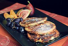 protein packed ricotta pancakes (inabluemoon.net) Tags: fruits pancakes ricotta protein packed