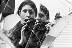 piece by piece [analog] (ja nina) Tags: blackandwhite selfportrait blackwhite scan scanned selbstportrait schwarzweis