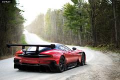 Racecar. (ZainSyedPhoto) Tags: red toronto martin vulcan supercar aston