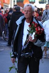 May Day Parade 2016, Sint-Pietersnieuwstraat, Ghent (Tetramesh) Tags: tetramesh gent gand ghent oostvlaanderen vlaanderen eastflanders flanders belgië belgien belgique belgium spa 1meistoet stoet march dagvandearbeid mayday internationalworkersday 1meistoettegent abvv socialisten socialist socialists socialism spagent tombalthazar karintemmerman anneliesstorms danieltermont anneschiettekatte fatmapehlivan jorisvandenbroucke resultapmaz freyavandenbossche