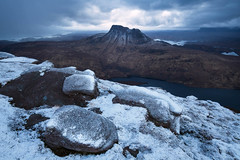 Pre-Historic (svensl) Tags: winter walking landscape scotland highlands scottish stac pollaidh cul mor fiddler schottland suilven assynt