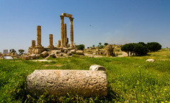 Roman Ruins (RJDonga) Tags: architecture roman citadel amman east jordan middle period byzantine neolithic templeofhercules